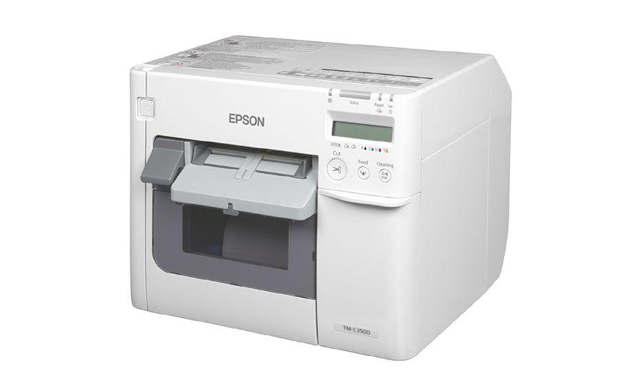 Epsonc3500 farveprinter