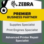 Zebra partner certificate