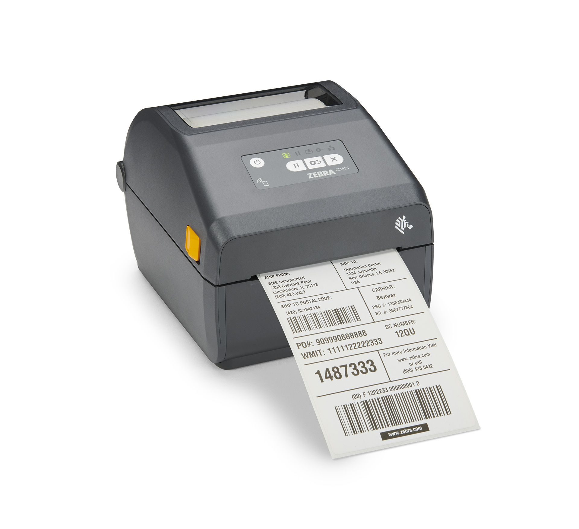 Zebra ZD421 labelprinter